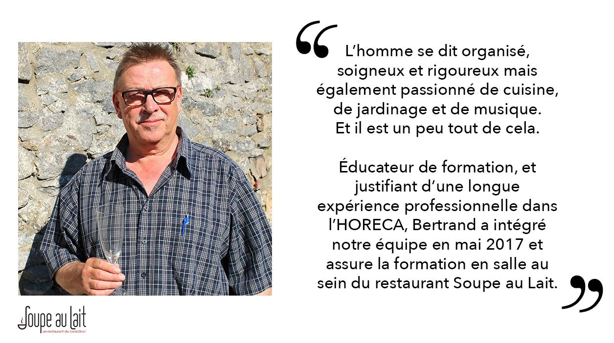 Nouveau formateur Bertrand Doclot