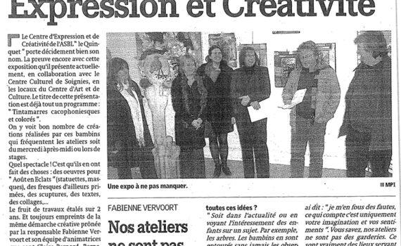 Article de La Nouvelle Gazette du jeudi 04 décembre 2008