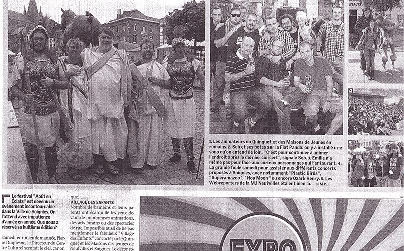 Le Quinquet asbl Nouvelle Gazette 2012