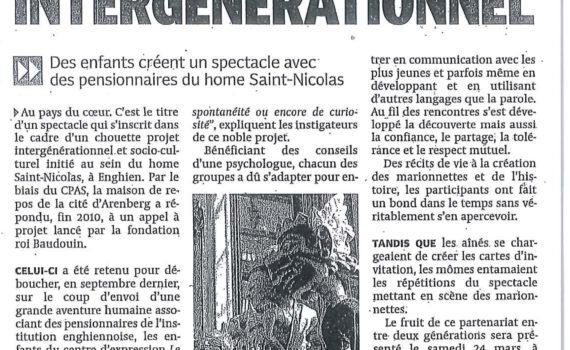 Le Quinquet asbl La DH Mars 2012