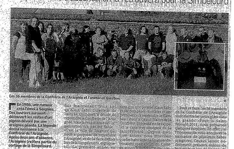 Le Quinquet asbl Nouvelle Gazette juin 2011