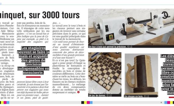 Presse Sudpresse Section Filière Menuiserie